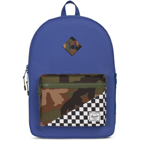 Herschel Heritage XL Backpack Youth Deep Ultramarine/Checker/Woodland Camo